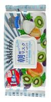 """MORNING FACIAL SHEET MASK  FRESH / Маска-салфетка для утреннего ухода за лицом """"Увлажнение и упругость""""  (с ароматом йогурта и киви)"""