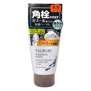 TSURURI PORE GHASSOUL PASTE / Пена - скраб для умывания и очищения пор с вулканической глиной