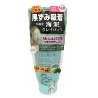 TSURURI MINERAL CLAY PACK / Крем - маска для лица с глиной и морскими водорослями