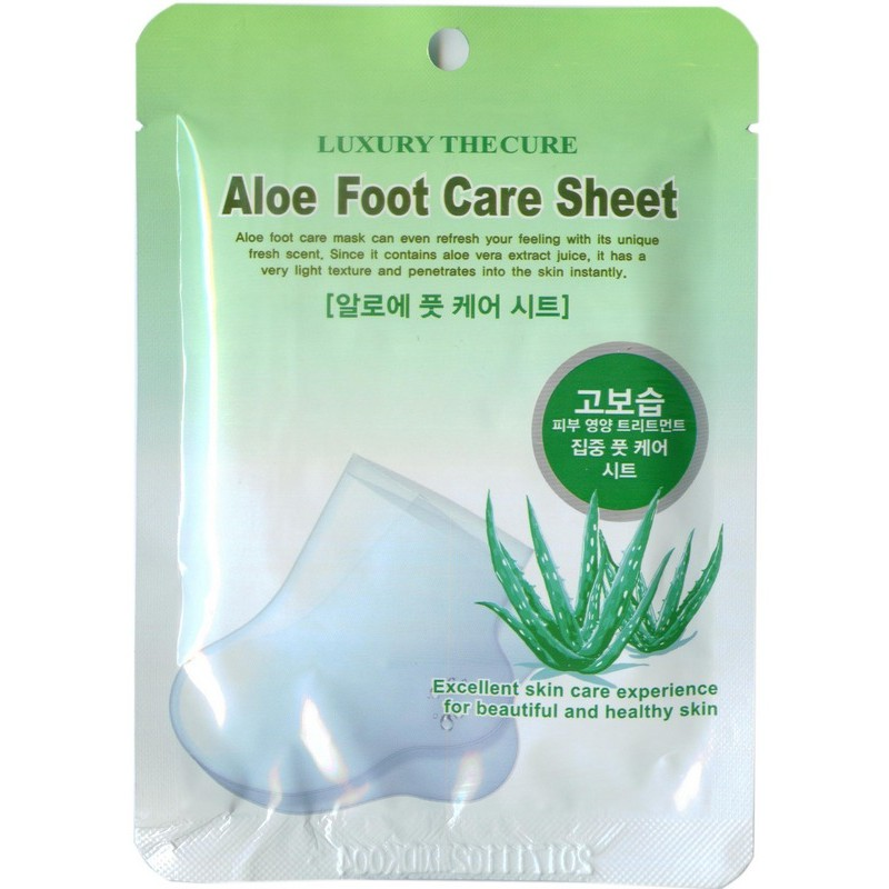Aloe Foot Care Sheet / Маска для ног с экстрактом алоэ