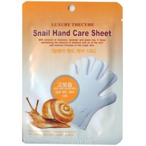 Snail Hand Care Sheet / Маска для рук с экстрактом слизи улитки