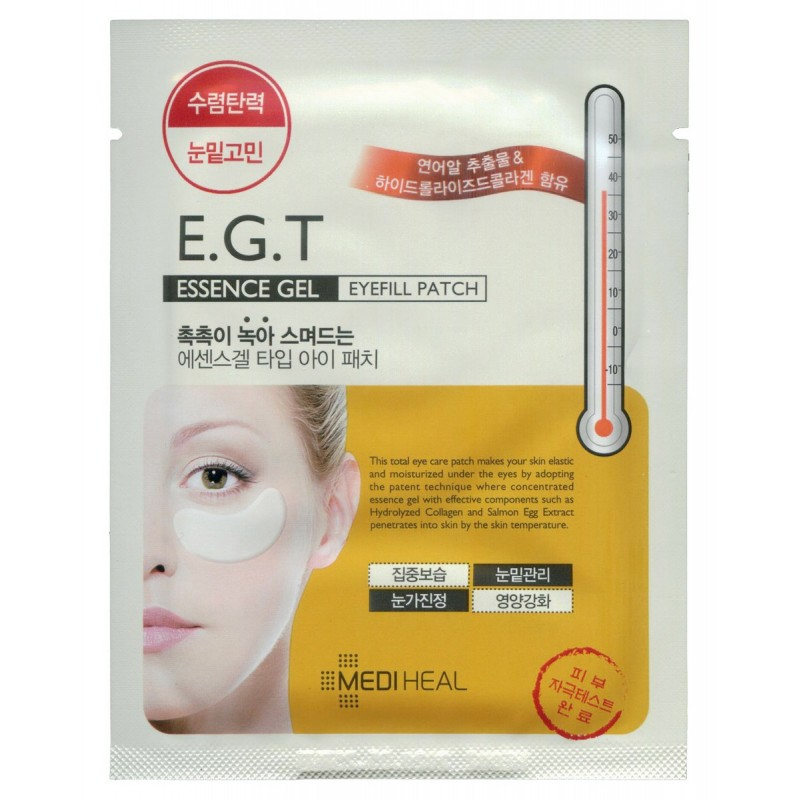 Essense gel eyefill patch / Гидрогелевая маска для кожи вокруг глаз ( c E.G.F.)