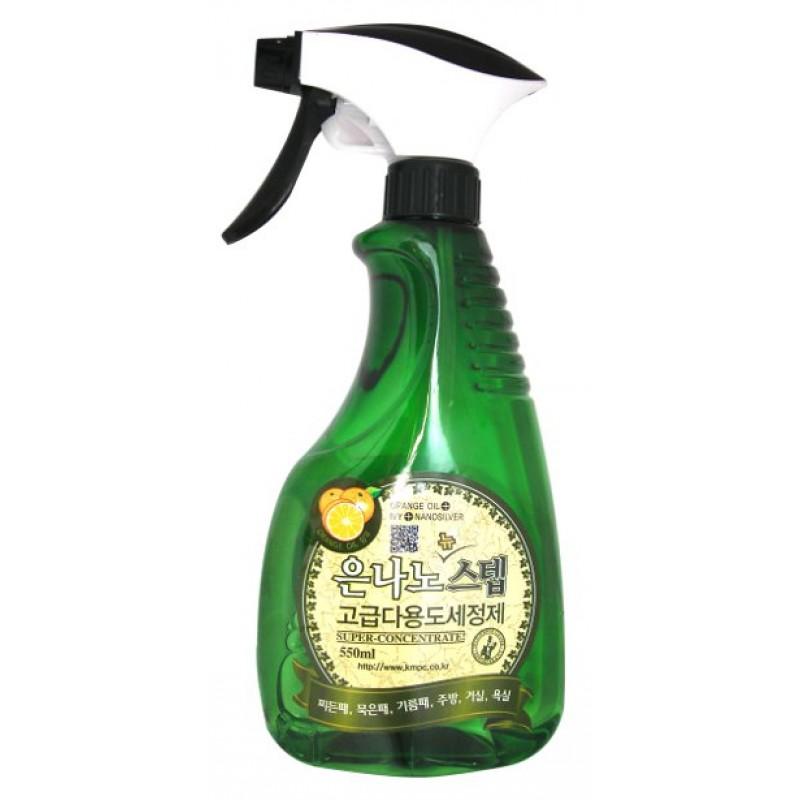 NANO SILVER STEP Multi-Purpose Cleaner / Универсальное жидкое чистящее средство для дома с серебром