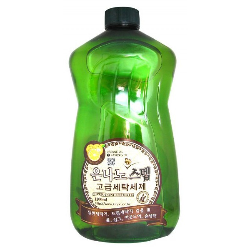 NANO SILVER STEP Detergent / Жидкое средство для стирки с серебром