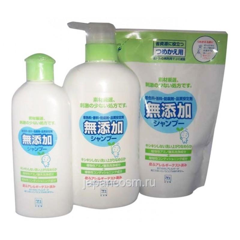 Растительный шампунь и кондиционер (2 в 1) для волос и чувствительной кожи головы