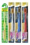 """Набор зубных щеток """"Семейный"""":  для детей 6-12 лет и для взрослых  (с широкой чистящей головкой и супертонкими щетинками,  средней жесткости, жесткая, мягкая), 4 шт"""