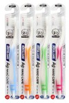 Nano Silver Toothbrush Set / Набор: Зубная щетка c наночастицами серебра и сверхтонкой двойной щетиной (средней жесткости и мягкой), 4шт