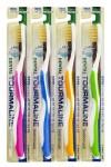 """Tourmaline toothbrush / Зубная щетка со сверхтонкой двойной щетиной (средней жесткости и мягкой) """"Турмалин"""""""