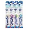 """Xylitol Toothbrush / Зубная щетка cо сверхтонкой двойной щетиной  (средней жесткости и мягкой) и прозрачной прямой ручкой,  """"Ксилит"""""""