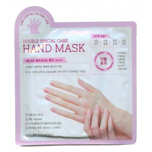 "DOUBLE SPECIAL CARE HAND MASK / Маска для рук ""комплексный уход"""