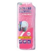 CHIMUNY SOFT SPONGE / Губка для мытья посуды (двухслойная, узкая, верхний слой средней жесткости)