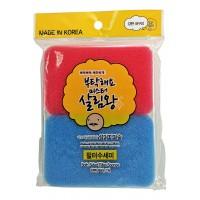 Both Sided Filter Sponge / Губка  для мытья посуды двухслойная