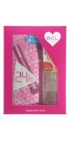 """BCL / Подарочный набор """"Пушистые ресницы"""" Тушь для ресниц (удлинение + подкручивание)  + очищающее и увлажняющее масло для снятия макияжа, 145 мл"""