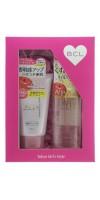 """BCL CLEANSING RESEARCH / Подарочный набор """"Двойное очищение""""  Очищающее и увлажняющее масло для снятия макияжа, 145 мл  + пена-скраб для лица,120 г"""