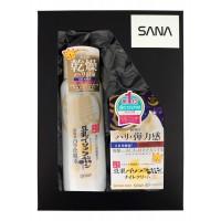 SANA Soy Wrinkle / Подарочный набор «ОМОЛОЖЕНИЕ И УВЛАЖНЕНИЕ С РЕТИНОЛОМ» (Увлажняющий и подтягивающий лосьон, 200 мл + Увлажняющий и подтягивающий крем, 50 г)