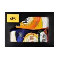 Набор для мужчин:   шампунь-кондиционер для волос  +  жидкое мыло для тела с экстрактом хурмы