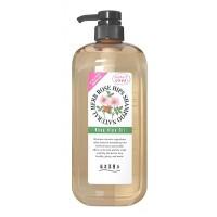 NATURAL HERB SHAMPOO / Шампунь на основе натуральных растительных компонентов (с маслом шиповника, для нормальных волос)