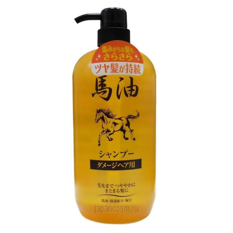 Horse oil shampo / Шампунь для повреждённых в результате окрашивания и химической завивки волос