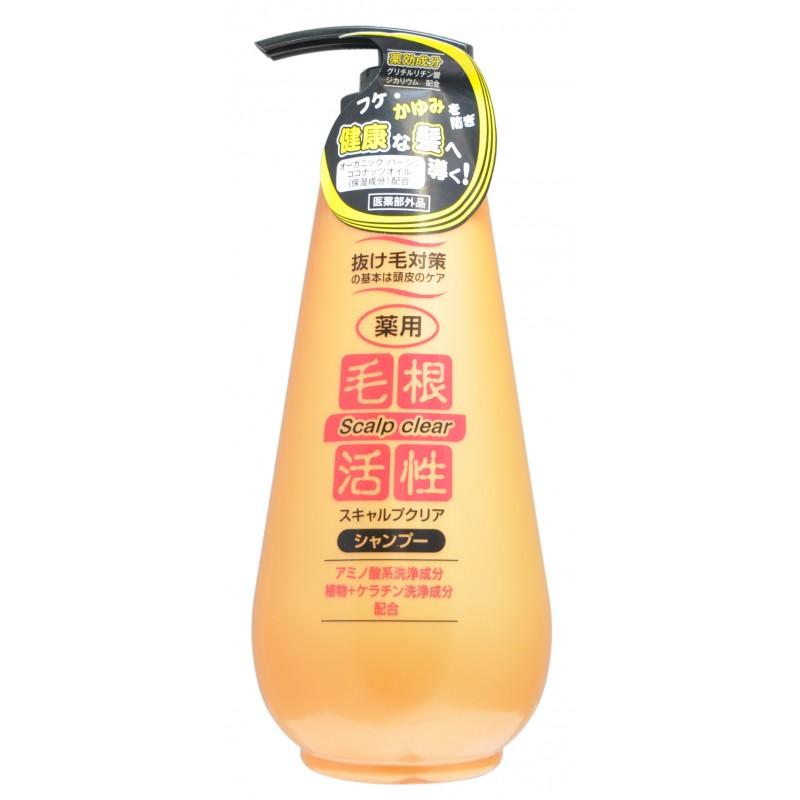 SCALP CLEAR SHAMPOO / Шампунь для укрепления и роста волос, против перхоти