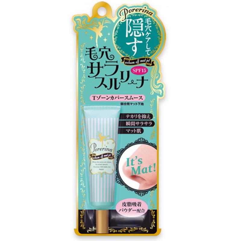 Porerina sebum off mat gel SPF15 / Дневной матирующий крем-гель для жирной кожи, SPF15