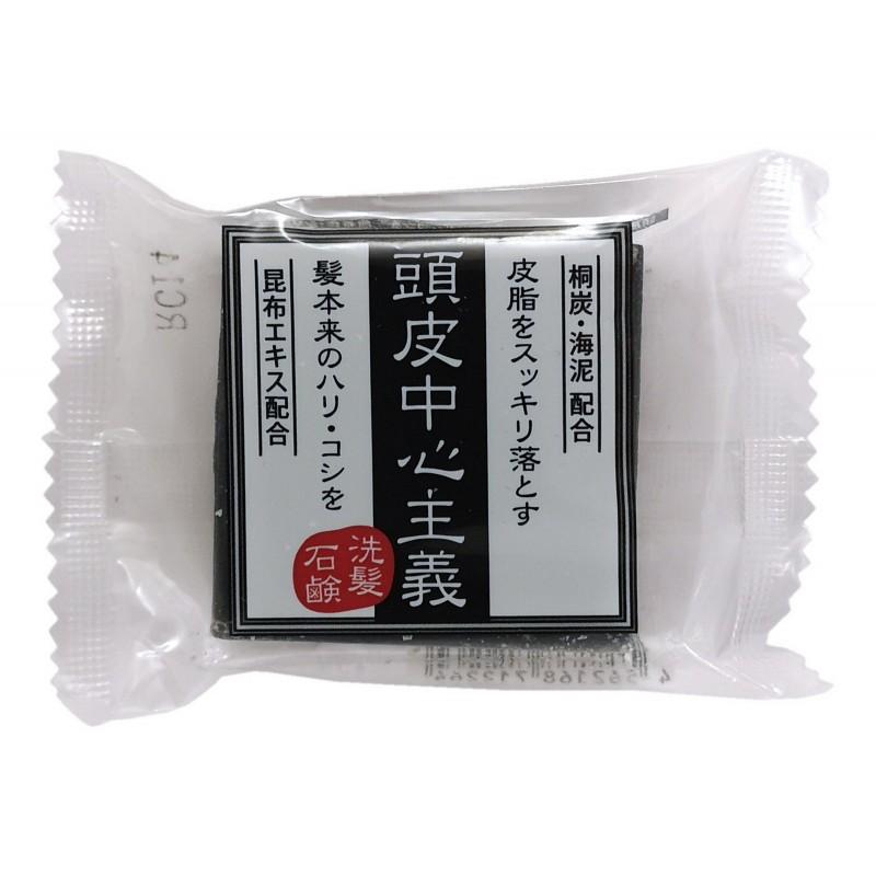 KIKUBOSHI Scalp care hair soap / Универсальное мыло-шампунь для очищения жирной кожи головы, волос и тела  (для мужчин)