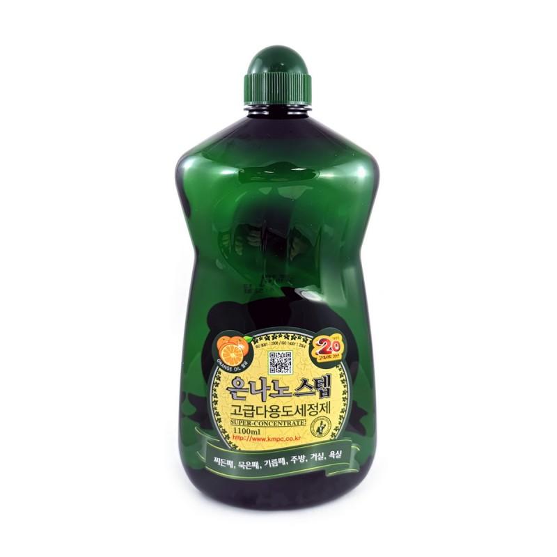 NANO SILVER STEP Multi-Purpose Cleaner / Универсальное жидкое чистящее средство для дома с серебром (запаска)