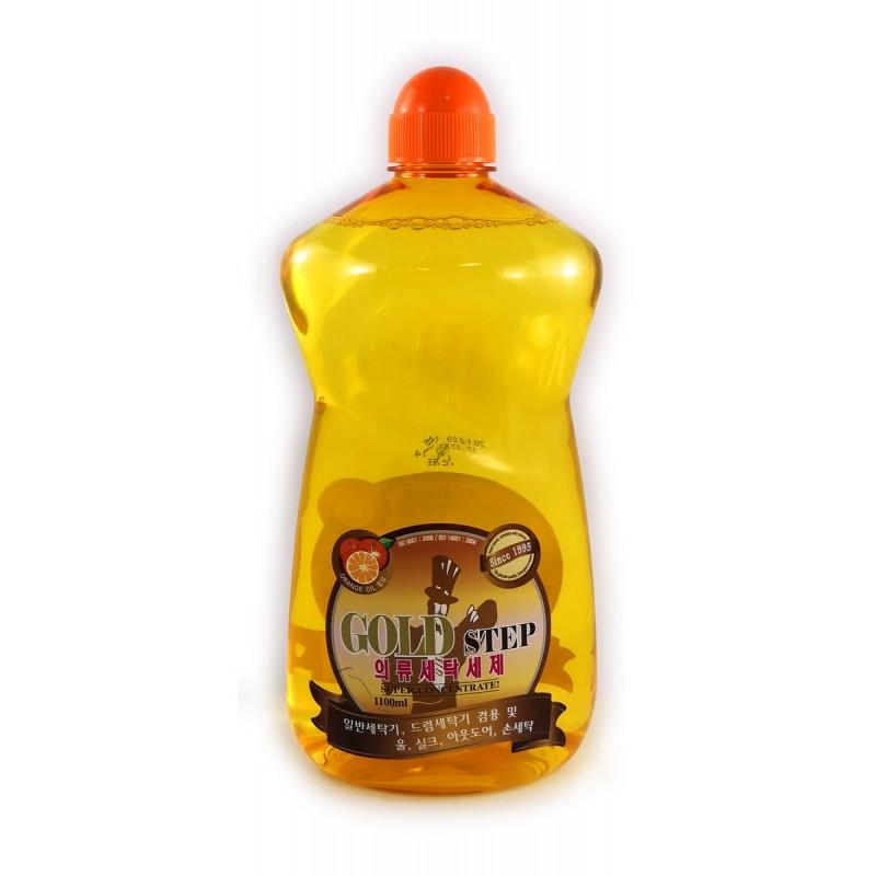 GOLD STEP Laundry Detergent / Жидкое средство для стирки (с частицами золота)