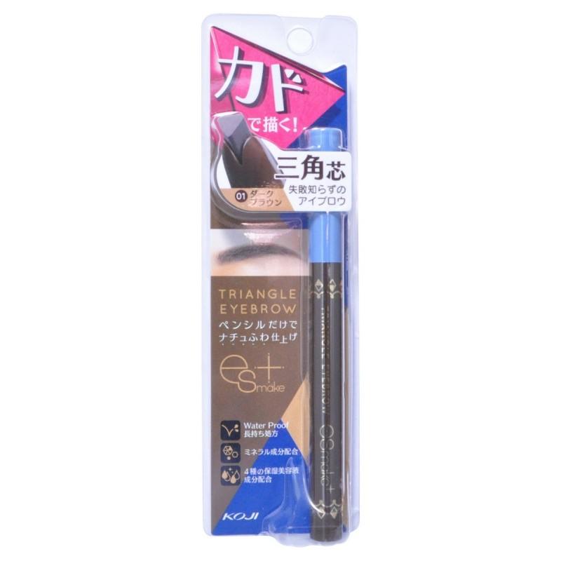 Triangle Eyebrow / Карандаш для бровей влагостойкий, темно-коричневый