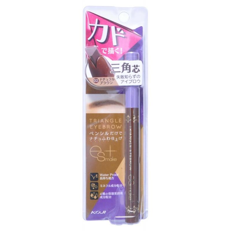 Triangle Eyebrow / Карандаш для бровей влагостойкий, коричневый