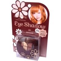 Dolly Wink Eye Shadow / Тени для век 4-х цветные (01 - классический коричневый )
