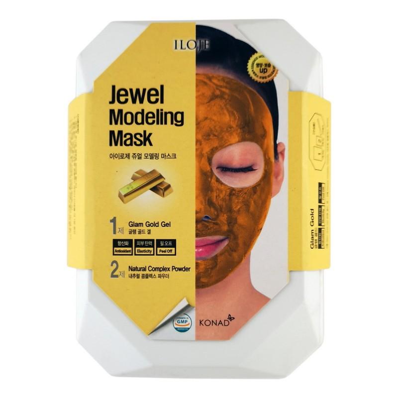 Jewel Modeling Mask Glam Gold / Моделирующая маска для лица с частицами золота