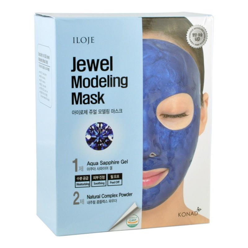 Jewel Modeling Mask Aqua Sapphire / Моделирующая маска для лица с сапфировой пудрой
