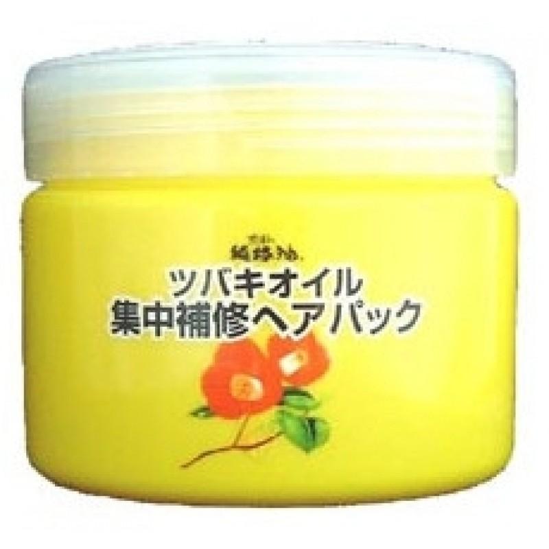 Camellia Oil Concentrated Hair Pack / Интенсивно восстанавливающая маска для повреждённых волос  с маслом камелии японской