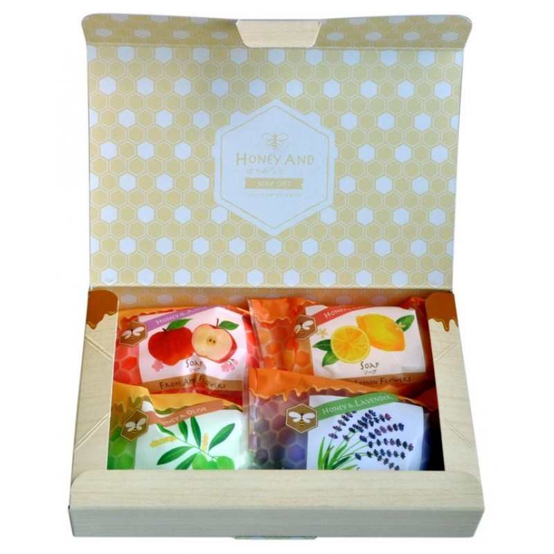 "Honey soap set / Набор ""Мед и травы"""