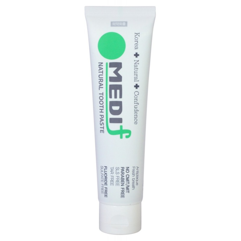 Medif toothpaste / Зубная паста комплексного действия (с частицами серебра, древесным углем и растительными экстрактами)