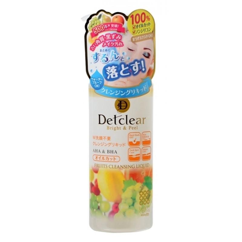 AHA&BHA Fruits Cleansing Liquid / Жидкость для снятия макияжа с AHA и BHA