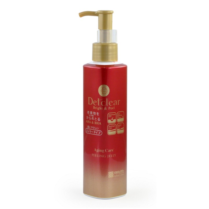 Bright&Peel  Peeling Jelly Aging Care / Очищающий пилинг-гель с AHA&BHA с эффектом сильного скатывания для зрелой кожи
