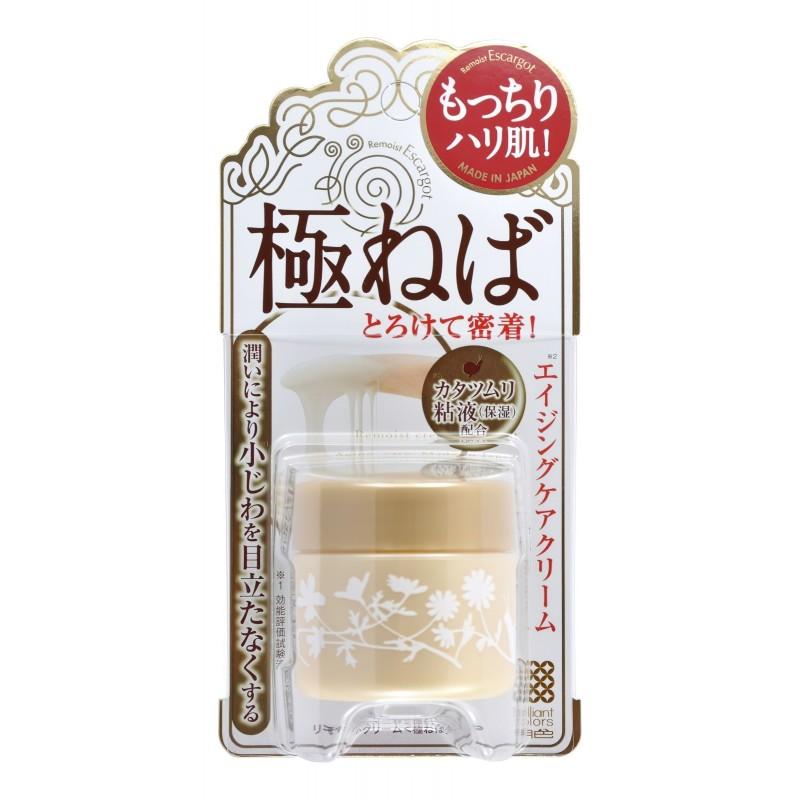 Meishoku Remoist Cream Escargot / Крем для сухой кожи лица с экстрактом слизи улиток