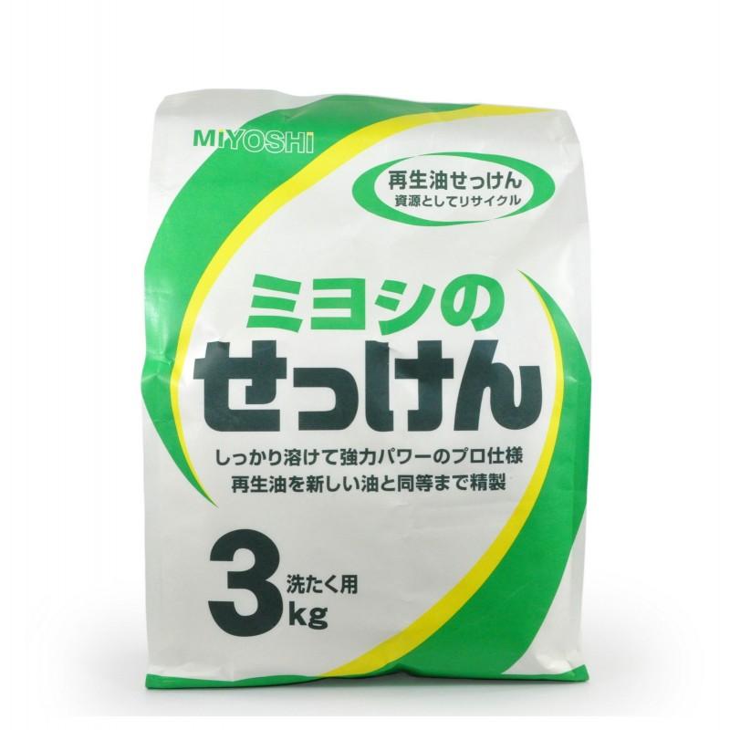 Порошковое мыло для стирки на основе натуральных компонентов