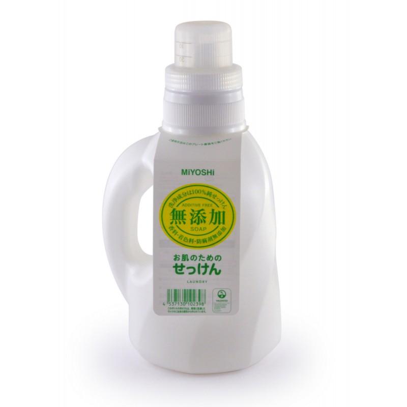ADDITIVE FREE LIQUID LAUNDRY SOAP / Жидкое средство для стирки на основе натуральных компонентов  (для изделий из хлопка)