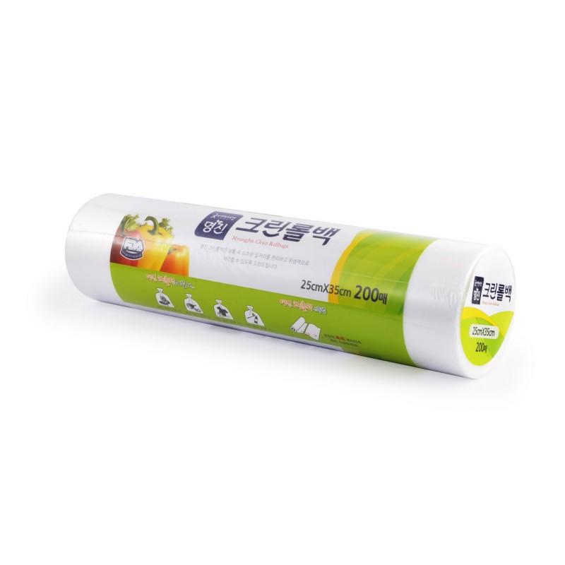 MYUNGJIN BAGS Roll type / Пакеты полиэтиленовые пищевые в рулоне (25 см. x 35 см.)
