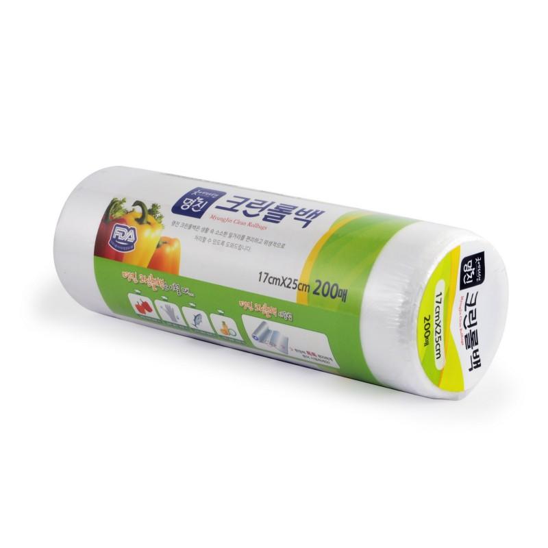 MYUNGJIN BAGS Roll type / Пакеты полиэтиленовые пищевые в рулоне (17 см. x 25 см.)