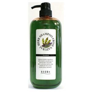 NATURAL HERB SHAMPOO / Шампунь на основе натуральных растительных компонентов (с экстрактом бурых водорослей, для сильно поврежденных волос)