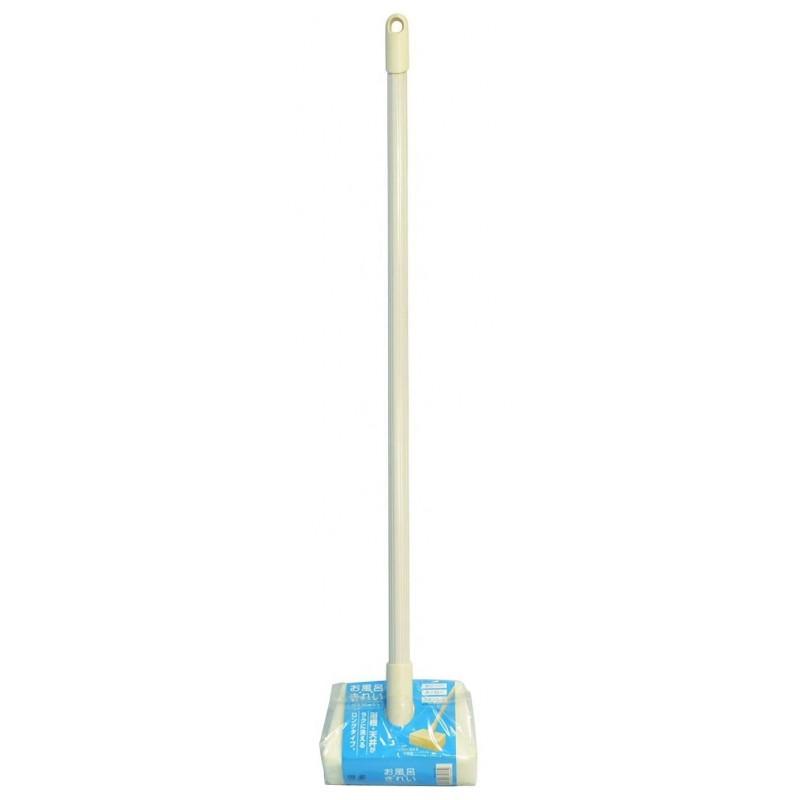 BATH SPONGE / Губка для ванной прямоугольной формы (длина ручки 60 см)