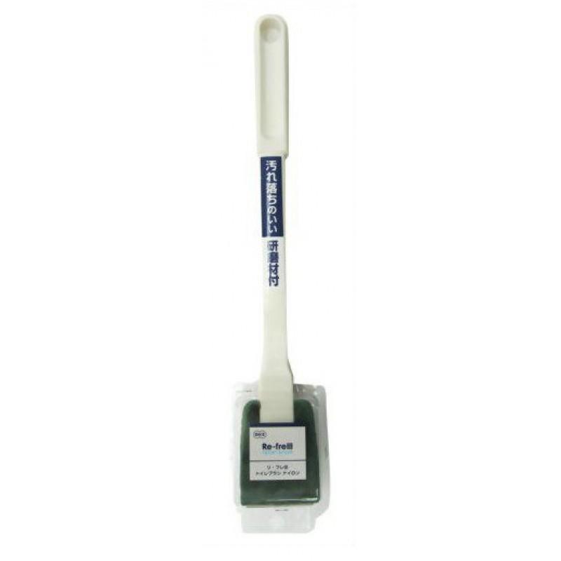TOILET BRUSH / Губка c ручкой для туалета жесткая