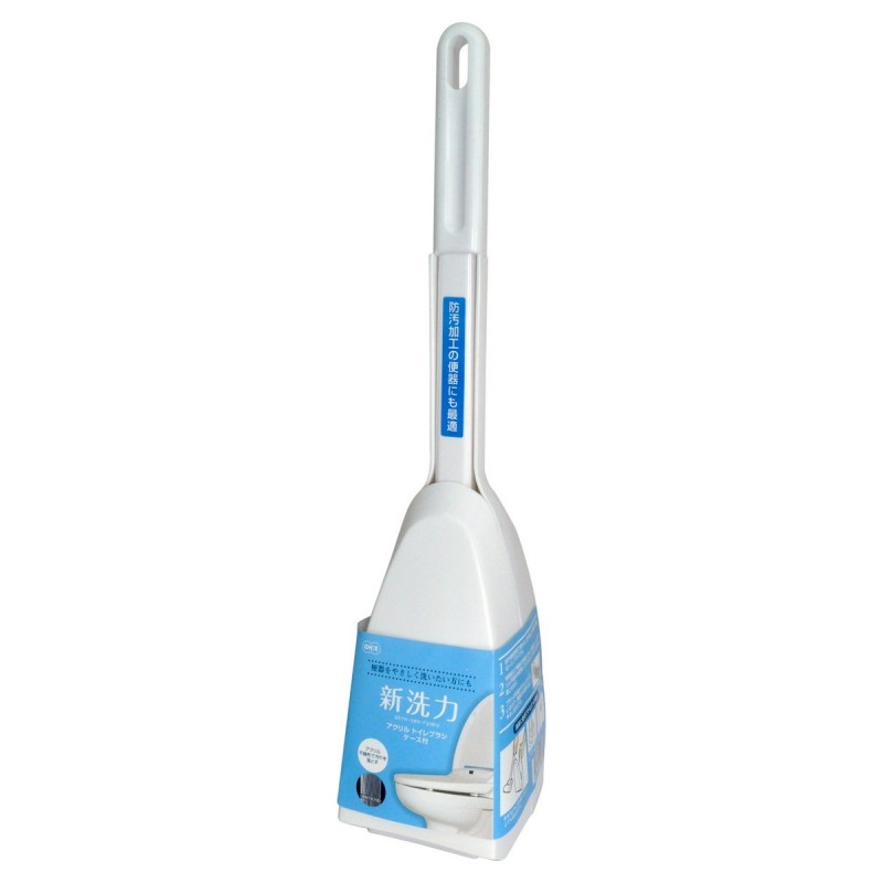 Acrylic Toilet Сase Brush / Губка для туалета с ручкой, акриловая, в боксе
