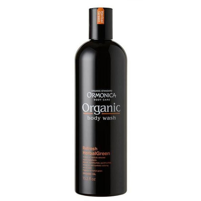 ORMONICA ORGANIC BODY WASH REFRESH / Органическое жидкое мыло для тела освежающее