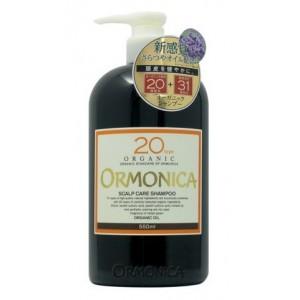 ORMONICA ORGANIC SCALP CARE SHAMPOO / Органический шампунь для ухода за волосами и кожей головы