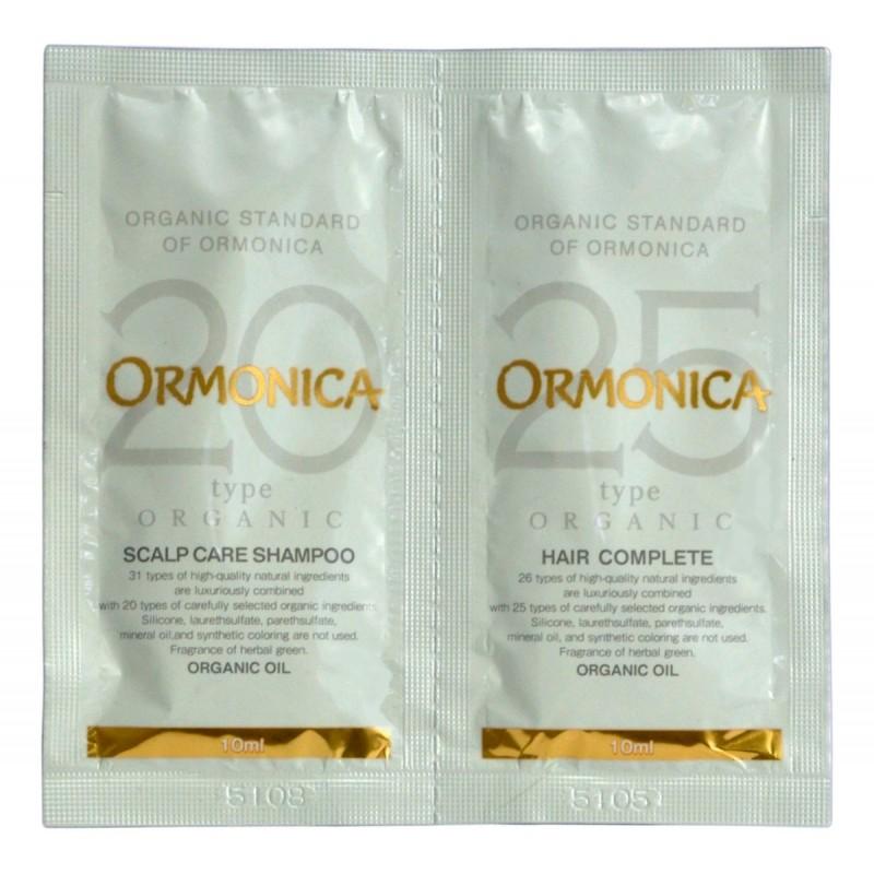 ORMONICA TRIAL SET /  Органический шампунь/бальзам для ухода за волосами и кожей головы