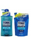 KOSE COSMEPORT / Тонизирующий шампунь и ополаскиватель (2 в 1) Tonic Rinse In Shampoo